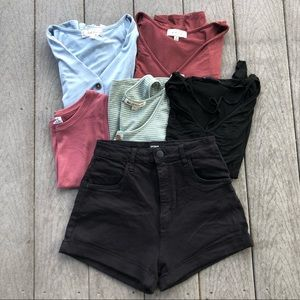 Women's Small/Medium Trendy Clothing Bundle Lot